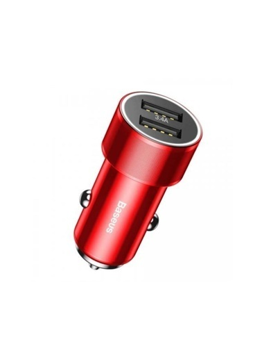 Basens Basens 36w Type-c + Usb Hızlı Araç Şarj Cihazı Kırmızı Kırmızı
